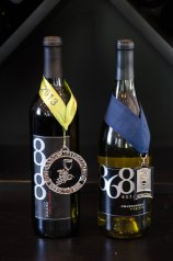 Two of 868's award-winning wines