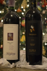 1984 and 2008 Flora Springs Trilogy wines
